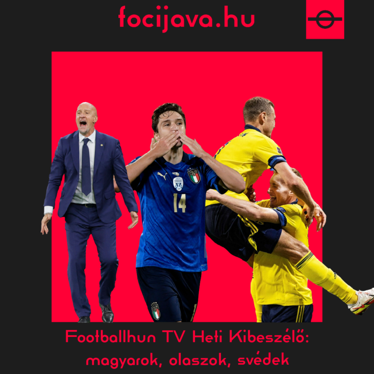 Footballhun TV Heti Kibeszélő: magyarok, olaszok, svédek