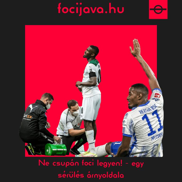 Ne csupán foci legyen! – egy sérülés árnyoldala